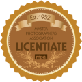 Fully Qualified member of The Master Photographers Association - MPA