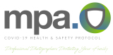 Covid 19  health and safety protocol with MPA
